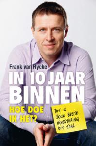 boek cover In 10 jaar binnen frank van rycke