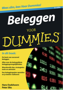 boek cover beleggen voor dummies
